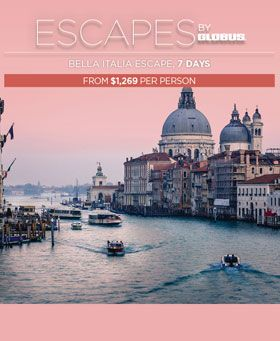 Escape Holidays Italy