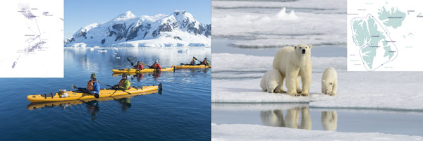 Antarctic and Arctic Tours